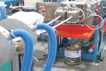 EPE发泡管/棒/型材生产线