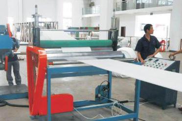 EPE发泡片/膜筒料(香蕉袋)生产线